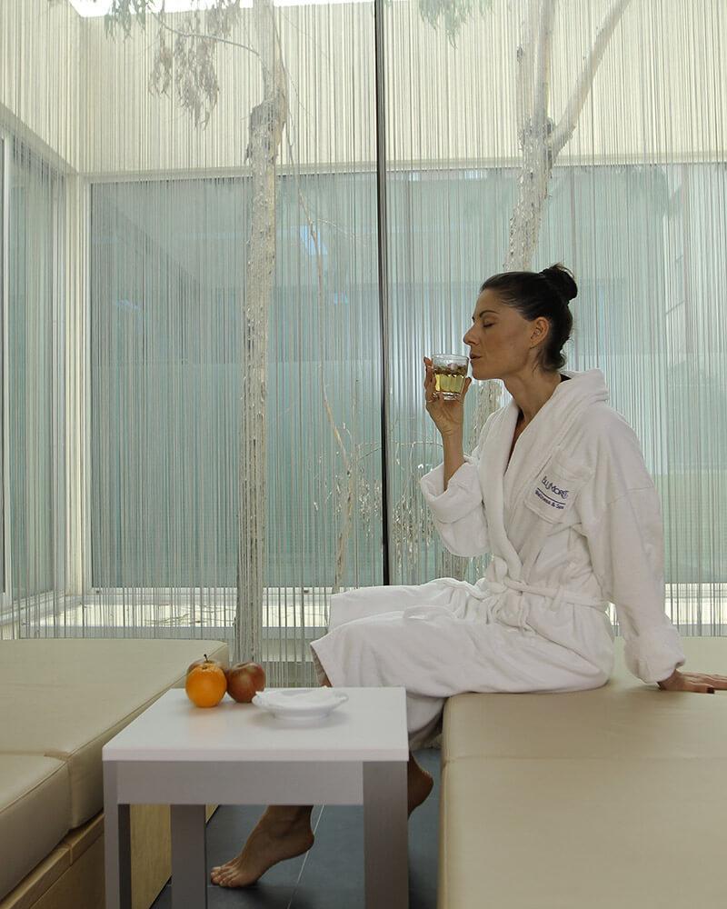 blu-moret-wellness-spa-centro-benessere-udine-tisana-rilassante